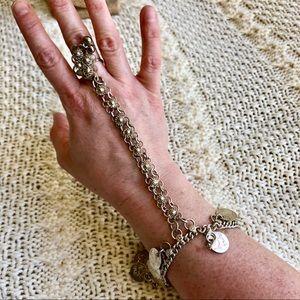 Jewelry - Vintage Belly Dancing Festival Ring & Bracelet Set